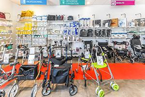 déambulateur mobilité cannes matériel médical handicap cannes